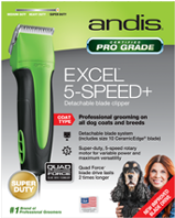 Clipper Excel 5-Speed+ GREEN Detachable Blade 2 pc. #65285