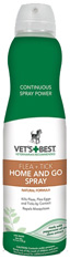 Vet's Best Flea & Tick Home & Go Spray 6.3 oz. The Bramton Company