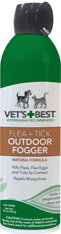 Vet's Best Flea & Tick Outdoor Fogger 14 oz. The Bramton Company
