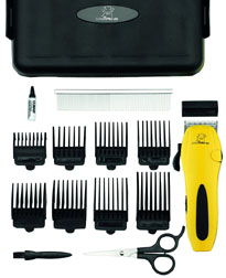 PRO Dog Cord/Cordless Pet Clipper Kit 16 pc. #PGRD500
