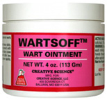 WARTSOFF Wart Ointment 4 oz. Creative Science