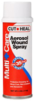 Aerosol Wound Care Spray 4 oz. Cut Heal