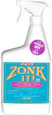 Zonk-It 35 Insect Control Spray, 32 oz.