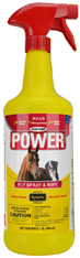 POWER Fly Spray & Wipe 32 oz. Durvet