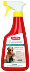 No-Bite Flea & Tick Mist  32 oz. Durvet