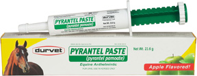 Pyrantel Paste 23.6 gm. Durvet