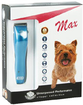Quiet Powerful Cordless Trimmer Max Blue DOG 8 pc. #327
