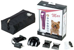 Quiet Powerful Cordless Trimmer Max Purple DOG 8 pc. #327
