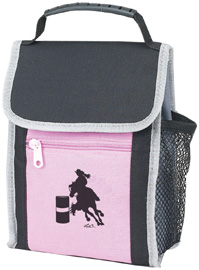 Lunch Sack: Barrel Racer / Pink