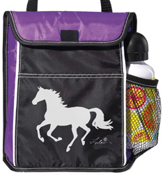 Lila Horse Lunch Sack PURPLE #GG816PU