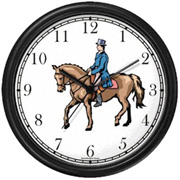 Dressage Horse & Ride Clock WatchBuddy Watches
