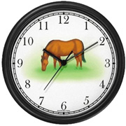 Horse Grazing Clock WatchBuddy Watches