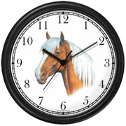 Palomino JP Horse Clock WatchBuddy Watches