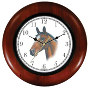 Brown Bay Horse Clock WatchBuddy Watches