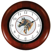 Stallion & Colt JP Horse in Circle Clock WatchBuddy Watches