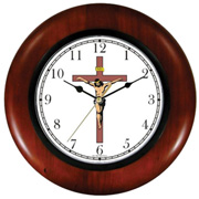 Christ on Cross Clock WatchBuddy Watches