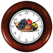 Still Life of Fruit Clock WatchBuddy Watches