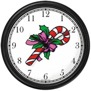 Candy Cane Clock WatchBuddy Watches