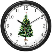 Christmas Tree Clock WatchBuddy Watches