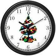Christmas Tree / Christmas Presents Clock WatchBuddy Watches