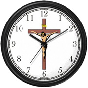 Jesus Christ on Cross Clock WatchBuddy Watches