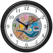 Jewish Holiday Symbols Clock WatchBuddy Watches