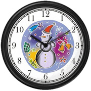 Snow Man Clock WatchBuddy Watches