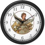 Angel Christmas Clock WatchBuddy Watches