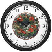 Christmas Wreath JP6 Clock WatchBuddy Watches