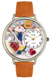 Cowboy Watch / Silver Whimsical Watches