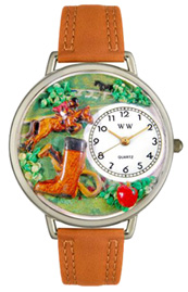 Horse Competition Watch / Silver Whimsical Watches