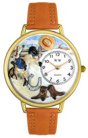 Rodeo Watch / Gold Whimsical Watches