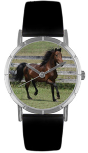 Morgan Horse Watch / Classic Silver Whimsical Watches