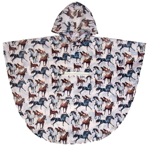 Horse Dreams Rain Poncho  Wildkin