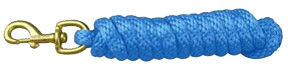 Extra Heavy Poly Rope Lead 10ft BERRY BLUE Hamilton Animal Products