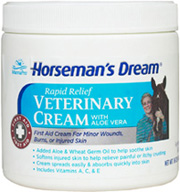 Aloe Vera Veterinary Cream 16 oz. Horseman's Dream