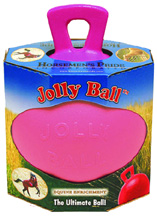 SCENTED Jolly Ball w/Handle Bubble Gum, Pink