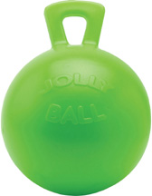 SCENTED Jolly Ball w/Handle Green Apple