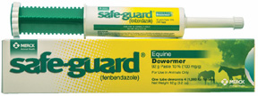 Safeguard 10% Paste Equine, 92 gm. Merck Animal Health