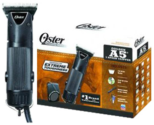 A5 Golden Single Speed Clipper Black 10 pc. #78705-000-000 Oster Pro
