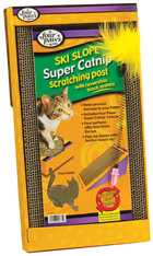 SUPER CATNIP Scratching Post Ski Slope Four Paws
