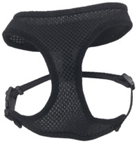 Comfort Soft Mesh Adjustable Harness Black