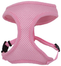 Comfort Soft Mesh Adjustable Harness Pink Bright