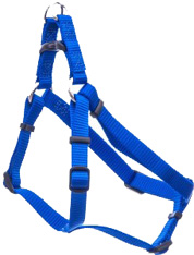 Comfort Wrap Adjustable Nylon Dog Harness Blue