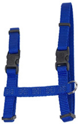 "CAT Figure ""H"" Adjustable Nylon Harness Blue"
