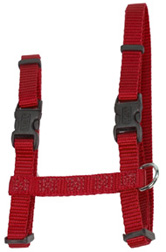 "CAT Figure ""H"" Adjustable Nylon Harness Red"