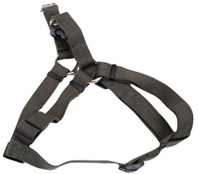 Soy Comfort Wrap Adjustable Dog Harness: Dark Green 5/8""