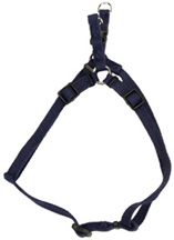 Soy Comfort Wrap Adjustable Dog Harness: Indigo 3/8""
