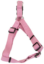Soy Comfort Wrap Adjustable Dog Harness: Rose 1""