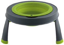 Elevated Feeder Single Bowl 12 oz. SMALL GREEN